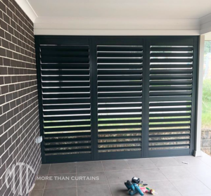 storm rated outdoor aluminium shutters