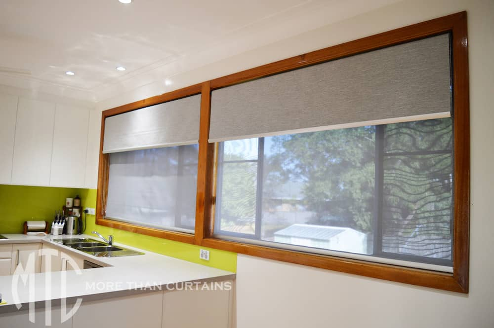 Double Roller Blinds Baulkham Hills 2 More Than Curtains