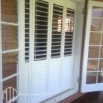 Bifold plantation shutters