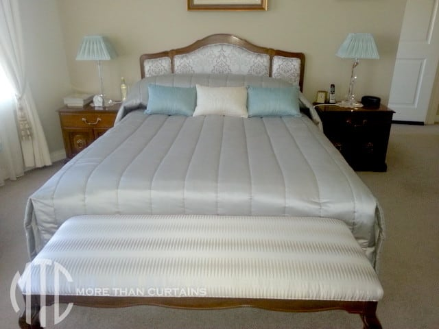 Channel Quilted Tailored Bedspread 1 More Than Curtains