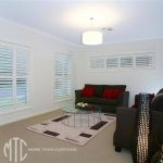 Plantation shutters highlight window