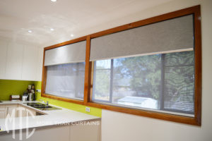 Double roller blinds- Baulkham Hills
