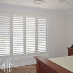Plantation shutters kid's room