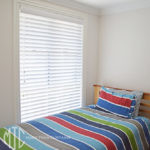 Venetian blind kid's bedroom