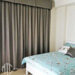 curtains & deep box pleat valance