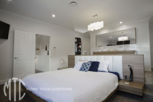 Panelled bedhead - Ryde