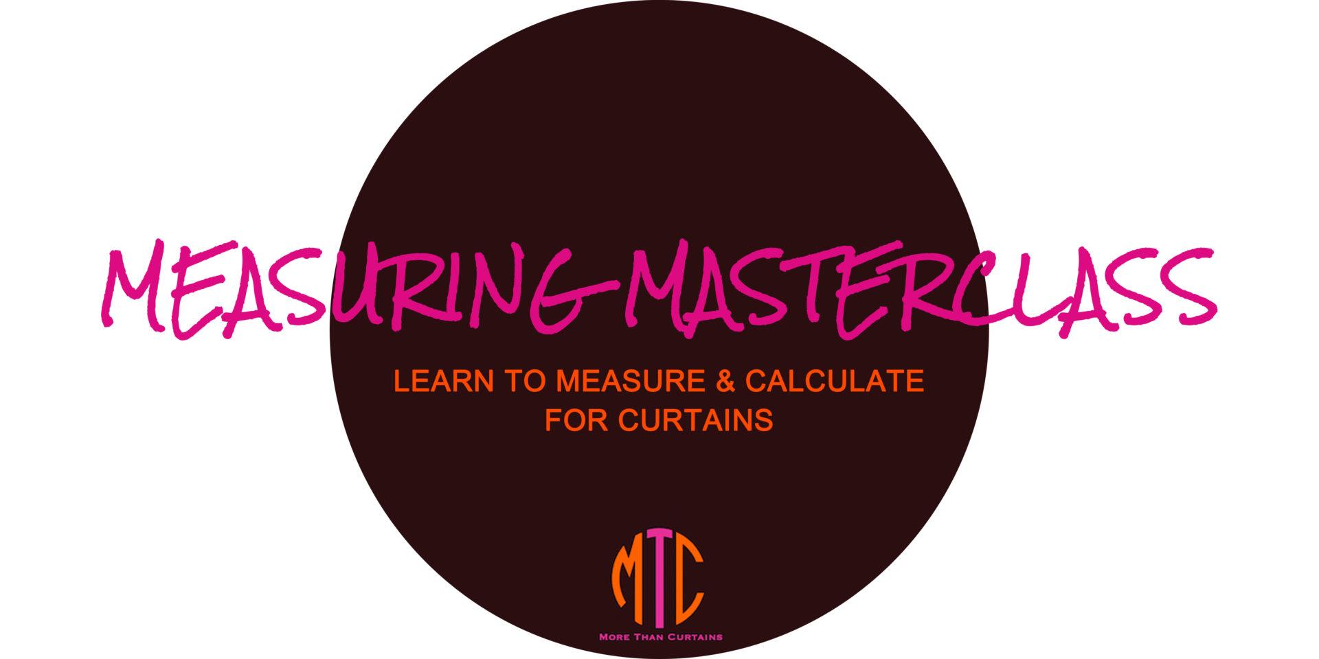 Measuring Masterclass Logo