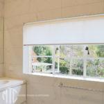 Translucent ivory roller blind