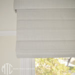 Roman Blinds with Matching pelmets