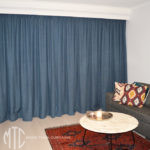 Pinch pleat blockout curtains