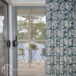 Euro pleat patterned curtains