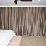 S-fold bronze curtain