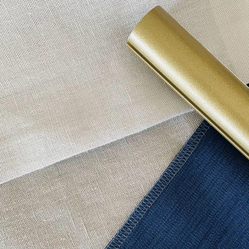 Australian made curtain rod & fabrics from New Zealand